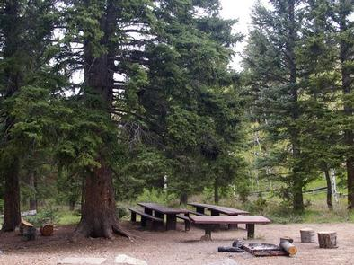 Cedar Canyon Campground  group siteGroup site