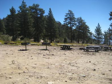 Coon Creek Group Campground Picnic Tables & BBG Grills