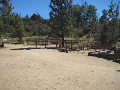 Heart Bar Equestrian Campground Corrals