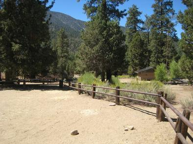 Heart Bar Equestrian Campground Corral