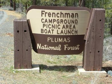 FRENCHMAN Entrance SignEntrance Sign