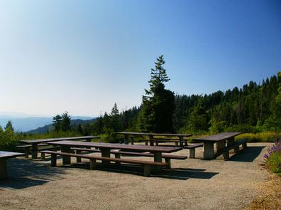 Beautiful views from mountain tops overlooking the valley below with hiking and biking activities available.Shafer Butte Campground