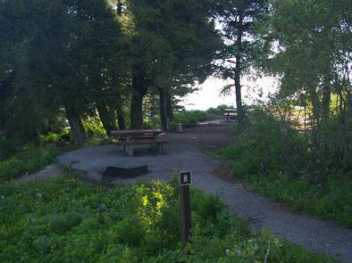 Partly shaded areas provide camping with picnic table, fire pit and tent pads for your stay.Shafer Butte Campground
