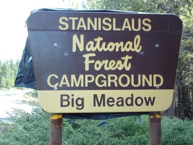 BIG MEADOW STANISLAUS NATL FS
