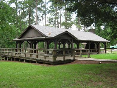 Historical Large PavilionLarge Pavilion at Choctaw Lake Recreation Area