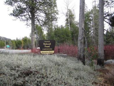 Hampshire Rocks Entrance