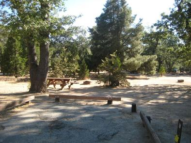 Camping Site at North Shore Campground