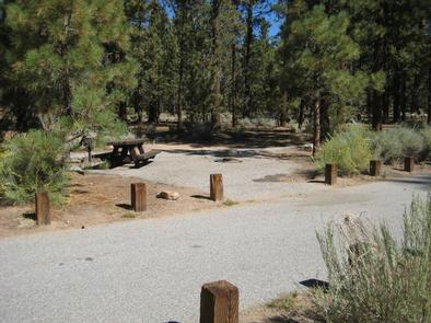 Heart Bar Campground Picnic Tables