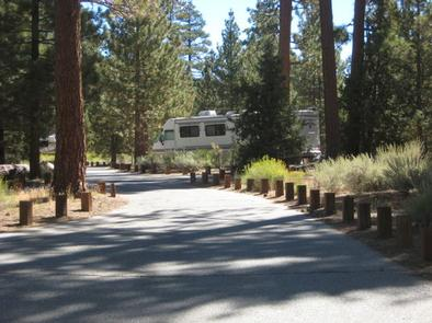 Road leading to Heart Bar Campground