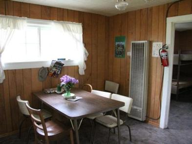 Warner Lake Cabin InteriorCabin Interior