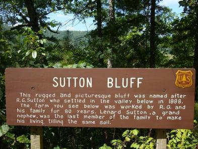 SUTTON BLUFF RECREATION AREA