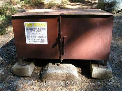Upper Pines Bear Box