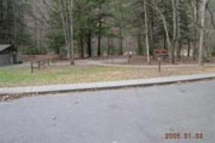 Deep Creek Group Camp ParkingParking area