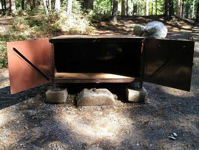 An Open Bear Box