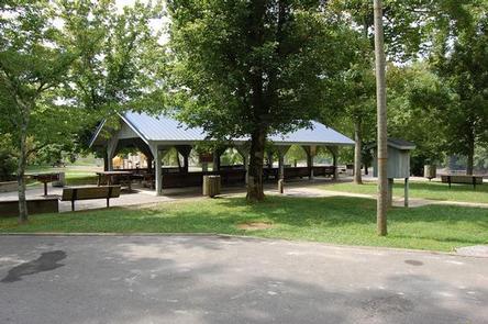 Kendall picnic shelterKendall Recreation Area picnic shelter