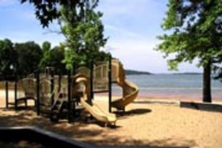 Playground at swim beach