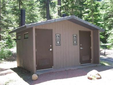 Restrooms at Gone CreekRestrooms