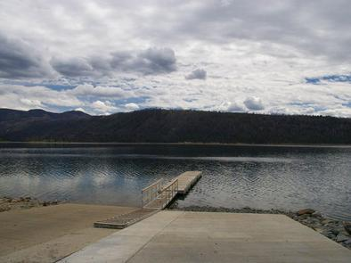 New Fork Lake Boat Ramp and Dock