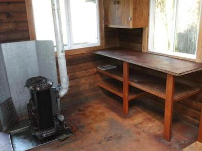Kitchen Area with Stove