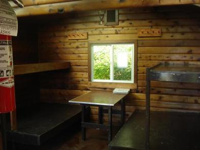 Winstanley lake Cabin Bunk AreaView of Bunk Area