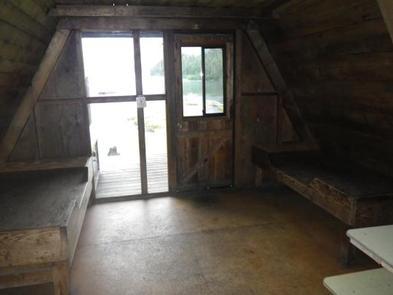 Berg Bay Cabin interior