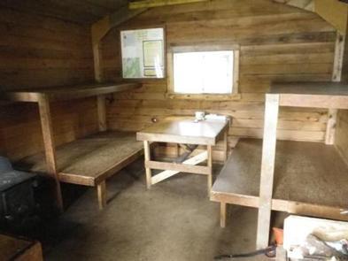 EAGLE LAKE CABIN interior
