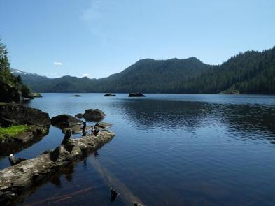 ANAN LAKE CABINView from Anan Lake Cabin
