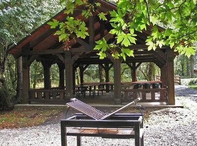 Eagleview Group Campground Pavilion