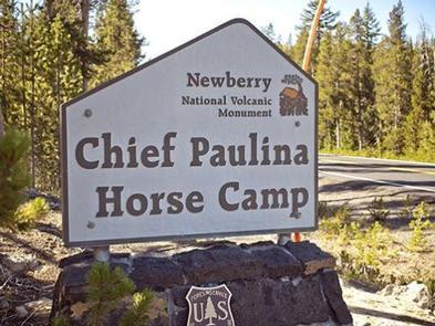 Chief Paulina Horse Camp