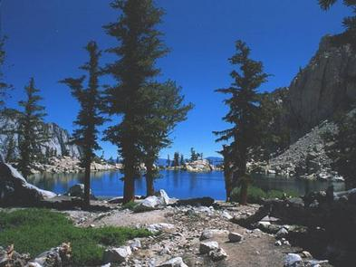 Lone Pine LakeCamping at Lone Pine Lake requires a Mt Whitney Trail overnight permit.