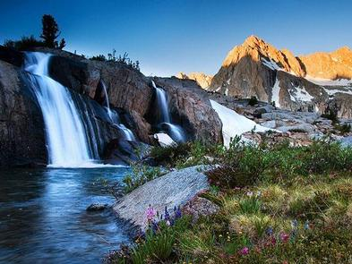 Moonlight Falls - Sabrina Lake Basin