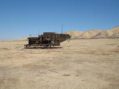 Carrizo Plain National Monument, Old Farm EquipmentOld Farm Equipment