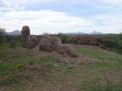 Ruins of Mission Los Santos Ángeles de GuevaviLos Santos Ángeles de Guevavi includes the only original Jesuit-era mission structures still standing above ground in Arizona.