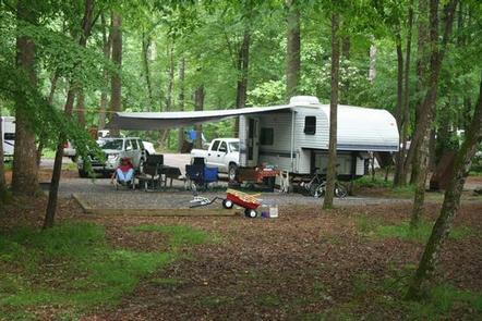 RV CampingRV camping. Be advised its a narrow dirt road to the campground.