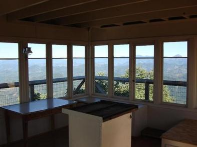 ACKER ROCK LOOKOUT-InteriorInterior with a view