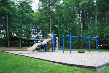 WEST HILL PARKShelter #1, near playground, beaches, restrooms, sand volleyball court and parking.  Wheelchair accessible.
