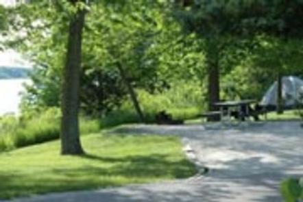 CHERRY GLEN CAMPGROUND 5Campsite view
