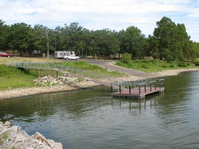 Courtesy dock and boat ramp area - Taylor FerryTaylor Ferry offers a rock fishing jetty that protects the courtesy dock and boat ramp area.