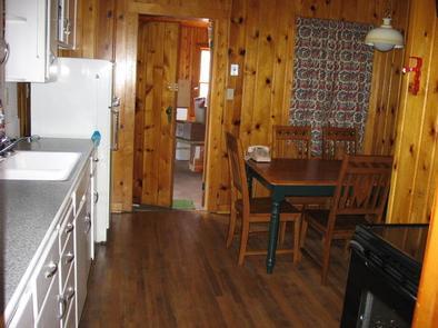 STUB CREEK CABIN kitchenCabin kitchen