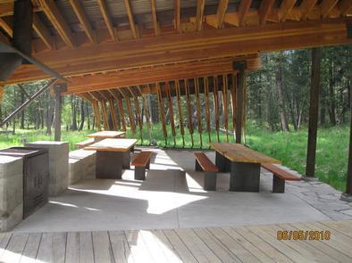 Pine Creek Campground Pavilion
