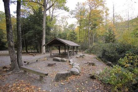 BRIAR BOTTOM GROUP CAMPGROUND 4Pavilion