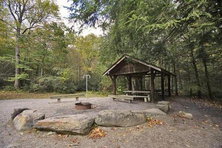 BRIAR BOTTOM GROUP CAMPGROUND 3Pavilion