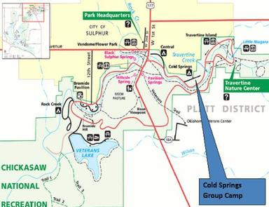 COLD SPRINGS GROUP CAMP (OK) CHICKASAW NRA