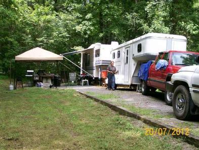 View of Campsite #1