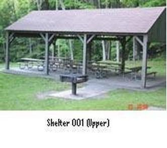 Northfield Brook Lake Group Shelters