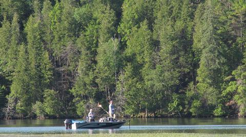 Ausable River Camping Boat 1Visitors enjoying the River