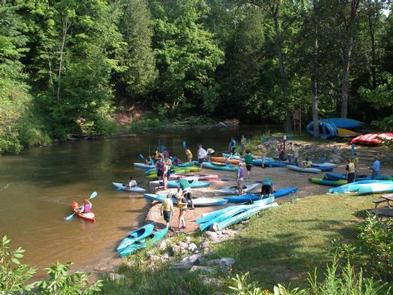 Pine National Scenic River Watercraft Permits (Huron Manistee)