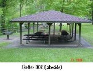 Northfield Brook Lake Group Shelters