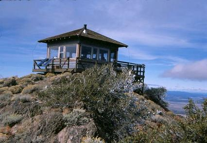 HAGER MOUNTAIN LOOKOUT EXTERIOR