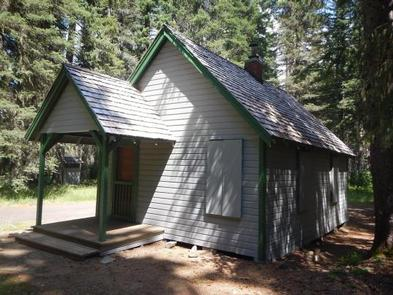 BOX CANYON GUARD STATION CABIN